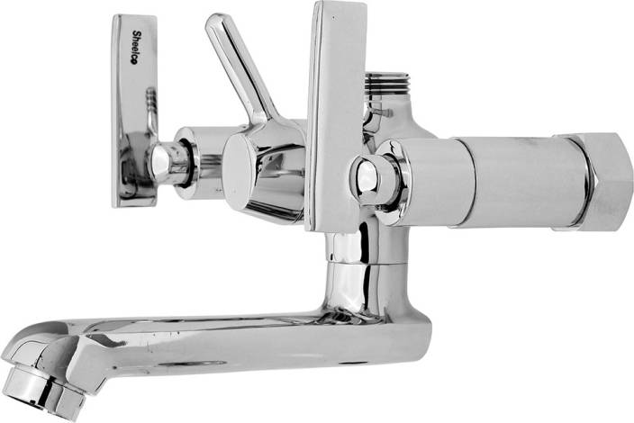 Ramani Wall Mixer Faucet Tap With Swinging Spout Foam Flow Mixer ...