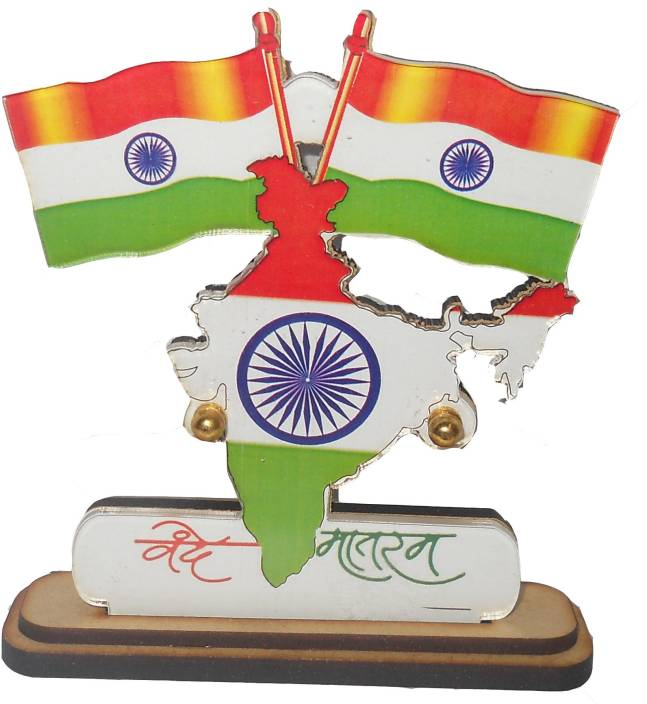 India Map Flag.Kaxtang Indian Map Rectangle Car Dashboard Flag Flag Price In India