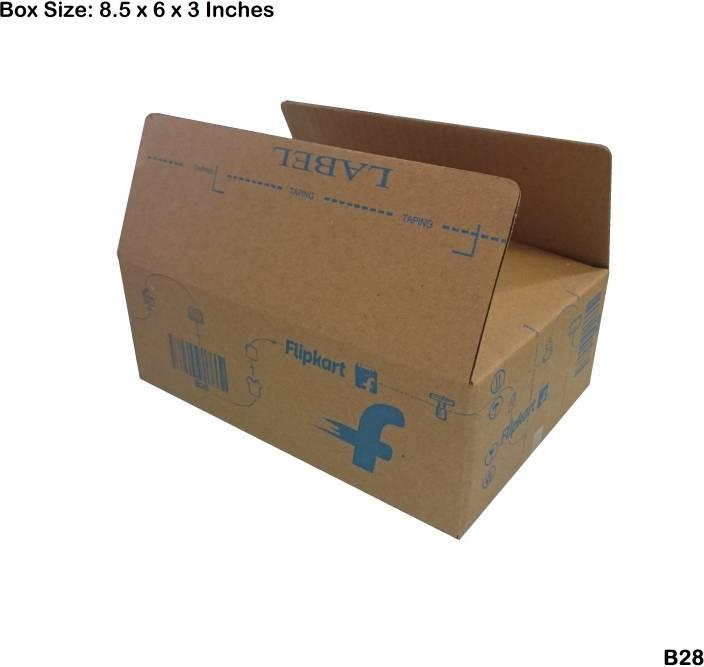 Flipkart Carton Box B28 8.5 x 6 x 3 inch