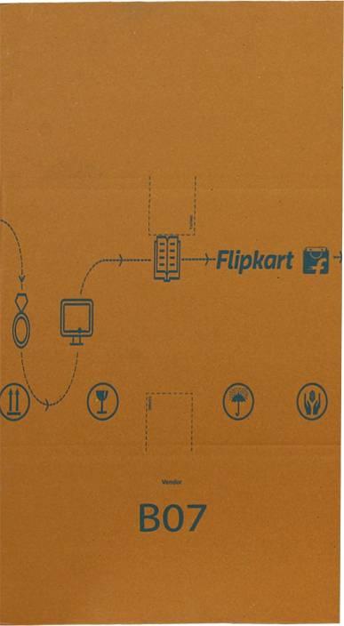 Flipkart Carton Box B7 21 x 16 x 12 inch