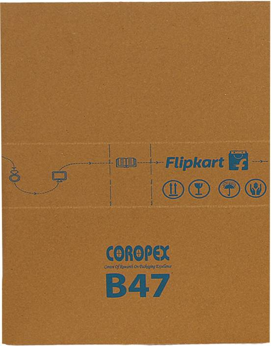 Flipkart Carton Box B47 20 x 13 x 3 inch