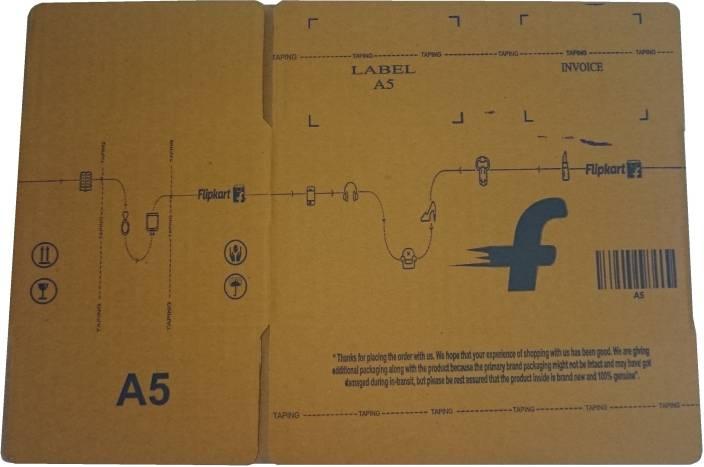 Flipkart Carton Box A5 7.9 x 5.1 x 3.7 inch