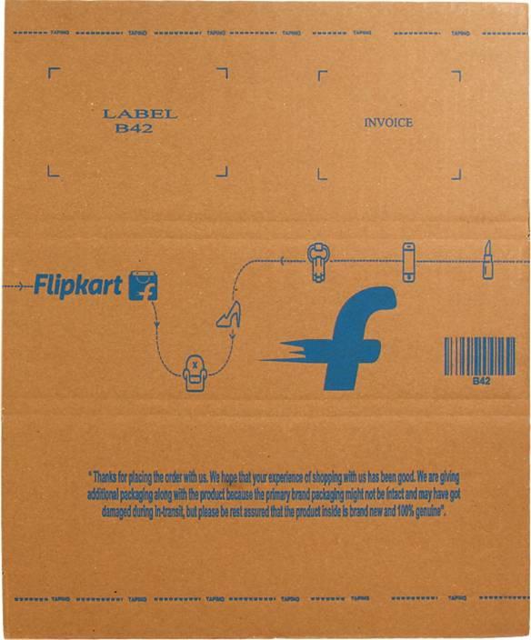 Flipkart Carton Box B42 15 x 13 x 5 inch
