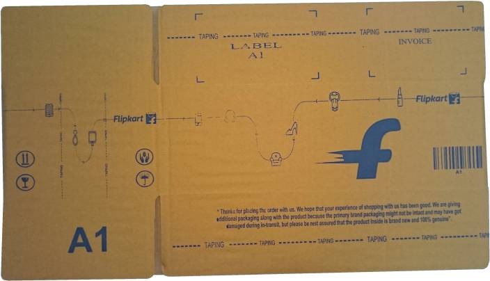 Flipkart Carton Box A1 12.2 x 6 x 4.1 inch