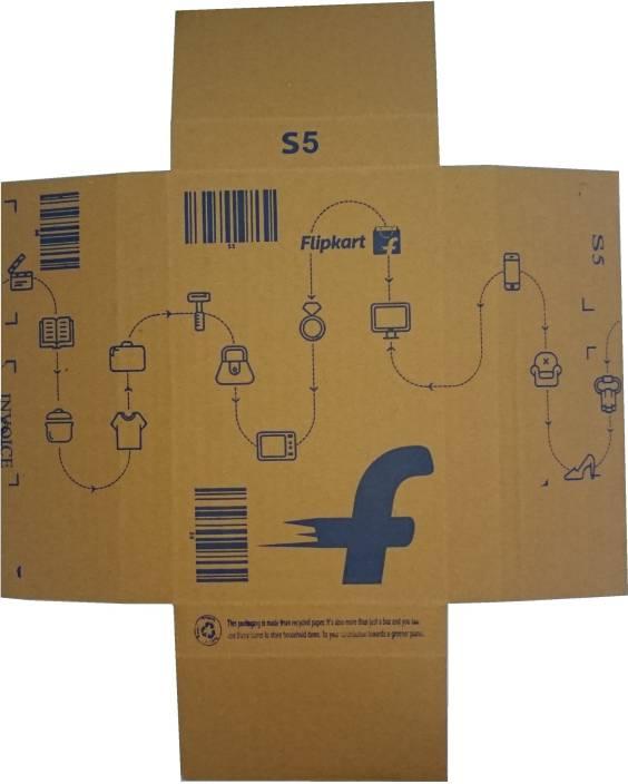 Flipkart Carton Box S5 8 x 5 x 1 inch