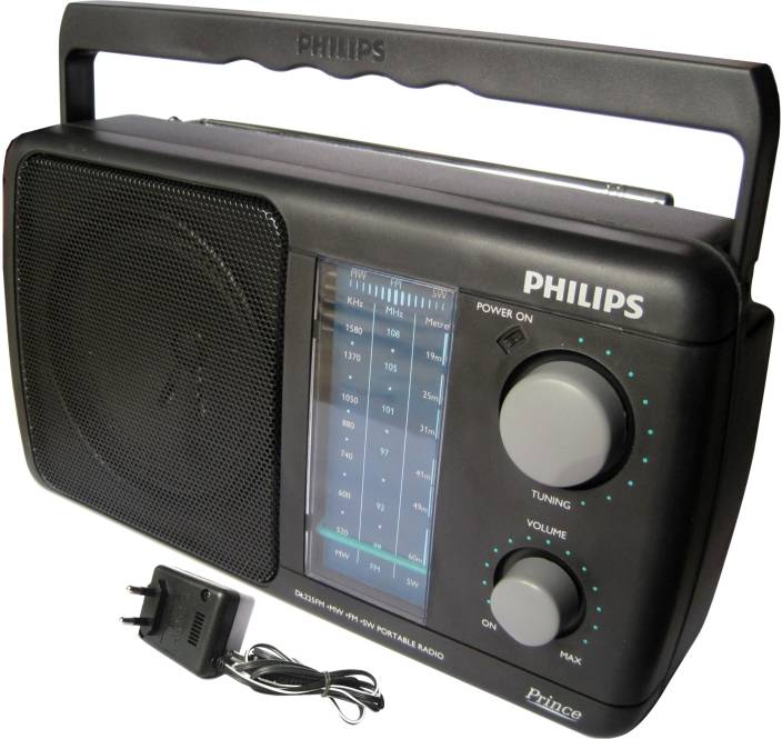 philips dl 225 with inbuilt rechargeable battery fm radio. Black Bedroom Furniture Sets. Home Design Ideas