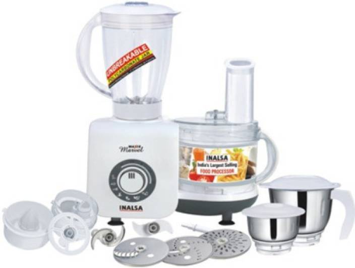 Inalsa Maxie Marvel 800 W Food Processor