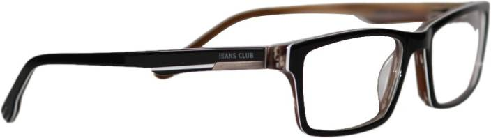 Jeans Club Full Rim Rectangle Frame