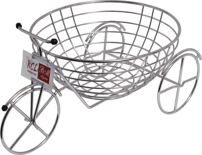 KCL Fruity Cycle Stainless Steel Fruit & Vegetable Basket