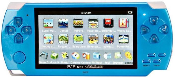DXP MultiMedia Game Player 4 GB with Preloaded 10000 Games