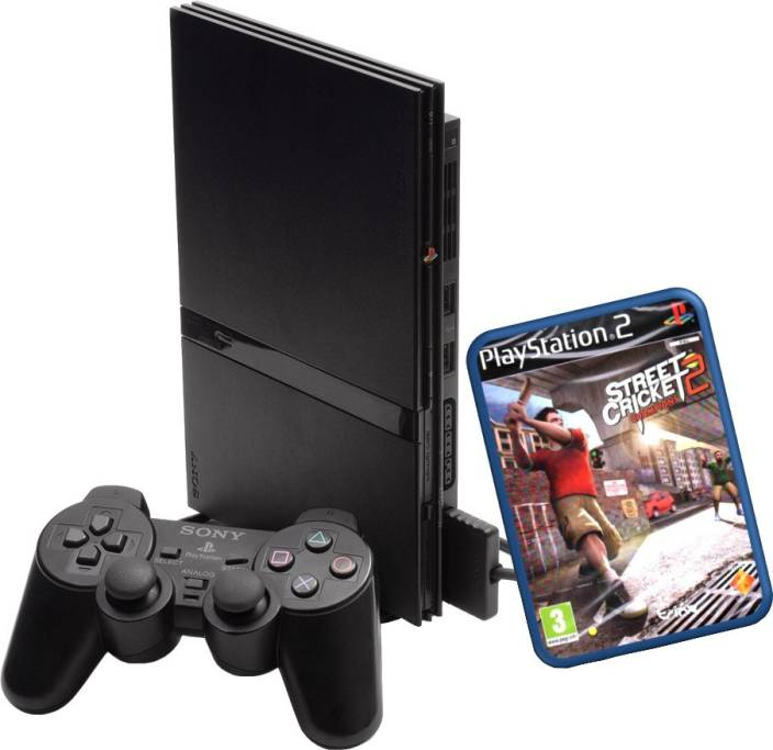 Sony playstation 2 ps2 8 mb with street cricket 2 price in india buy sony playstation 2 ps2 - Playstation 2 console price ...