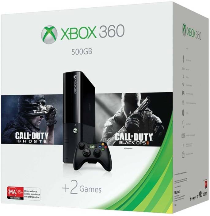 Unboxing microsoft xbox 360 500gb kinect bundle +3 games part. 1.