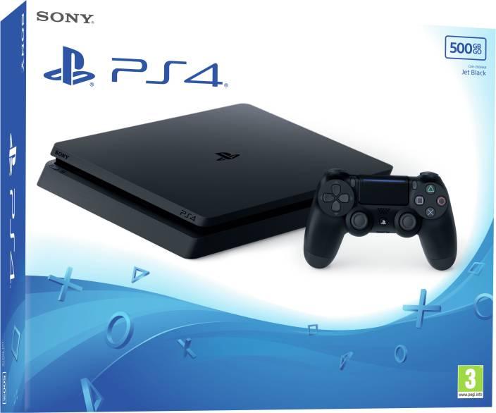 c27385aecf3fc Sony PlayStation 4 (PS4) Slim 500 GB Price in India - Buy Sony ...