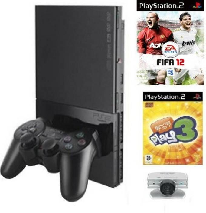 Sony playstation 2 ps2 with eye toy with fifa 12 price in india buy sony playstation 2 ps2 - Playstation 2 console price ...