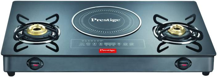 Prestige Hybrid Cook Top Stainless Steel Gl Manual Gas Stove