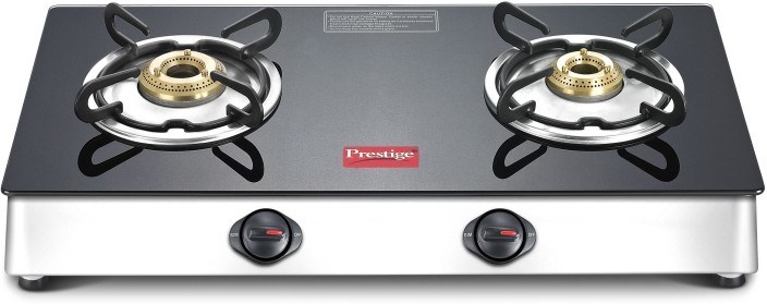 Amazing Prestige Marvel LP Gas Table With Glass Top Stainless Steel, Glass Manual  Gas Stove