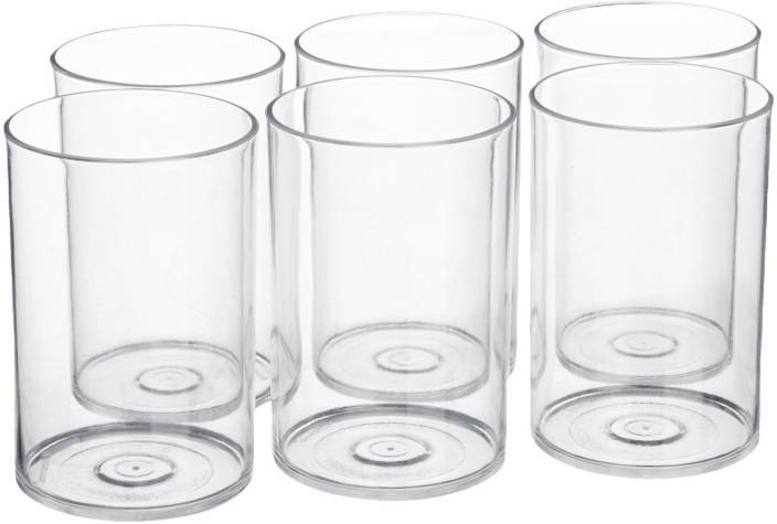 bfec7d5dd44 Signoraware Crystal Clear Glass (Set 6)   914 Glass Set Price in ...