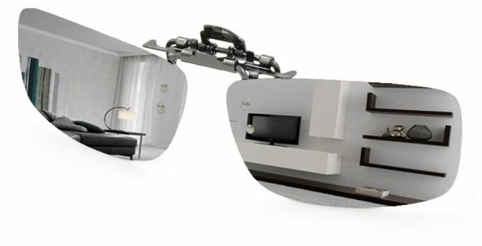 674fb7ace22 Enem Day Vision Polarized Silver Clip-on Flip-up Driving Motorcycle Goggles  (Silver)
