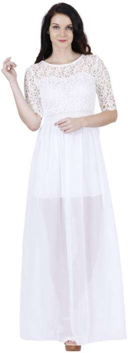 Jaunestore Flared Gown