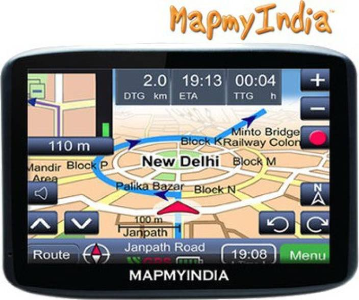 Maps My India Mapmyindia Lx140ws GPS Device Price in India   Buy Mapmyindia