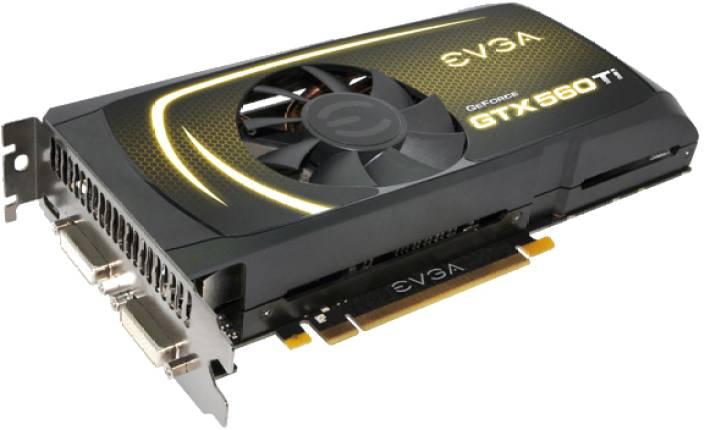 EVGA NVIDIA GeForce GTX 560 Ti 1 GB GDDR5 Graphics Card