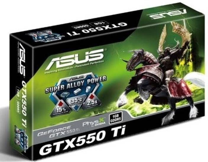 Asus NVIDIA GeForce GTX 550 Ti 1 GB GDDR5 Graphics Card