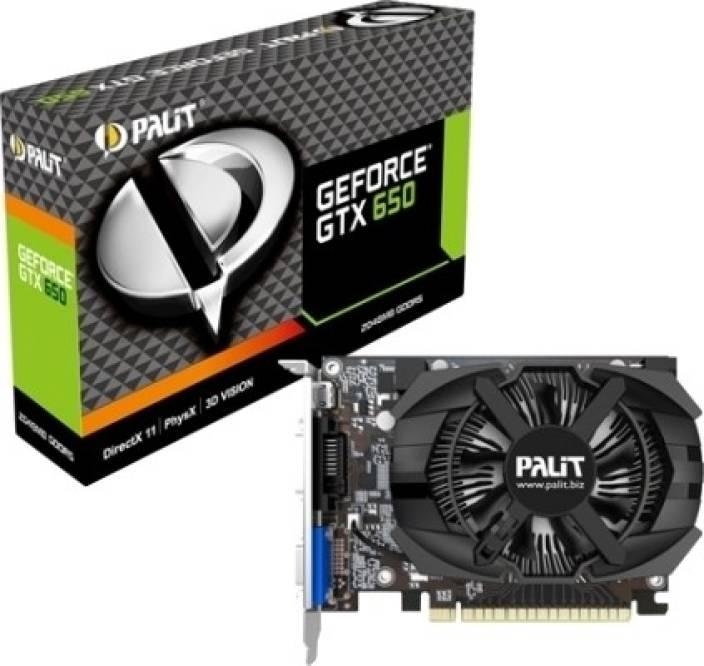 palit nvidia geforce gtx 650/2gb 2 gb gddr5 graphics card - palit ZA46