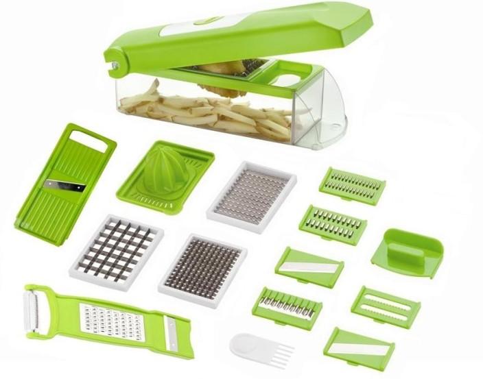speedwell 13 in 1 fruit u0026 vegetable graters slicer chipser dicer cutter - Vegetable Dicer