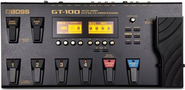 boss gt 100 guitar processor price in india buy boss gt 100 guitar processor online at. Black Bedroom Furniture Sets. Home Design Ideas
