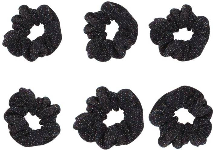 AccessHer Dailywear Big Hair Ties Rubber Band Price in India - Buy ... ba324603fbe