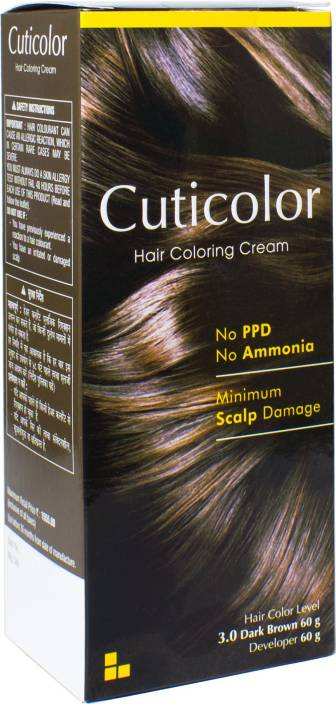 Cuticolor Permanent Hair Color Price In India Buy