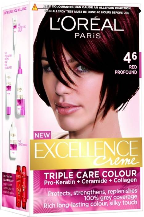 3c941f30f L Oreal Paris Excellence Creme Hair Color (Red Profound - 4.6)