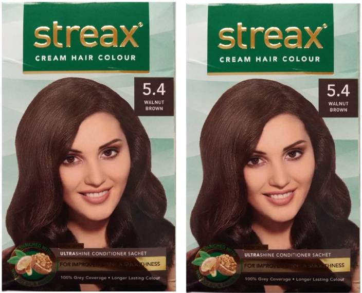 Streax Cream Walnut Brown 5 4 Pack Of 2 Hair Color