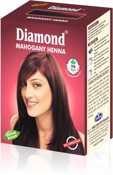 Diamond Mahogany Henna Hair Color