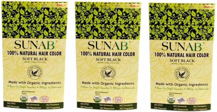 Sunab Certified Organic & 100% Natural Hair Color