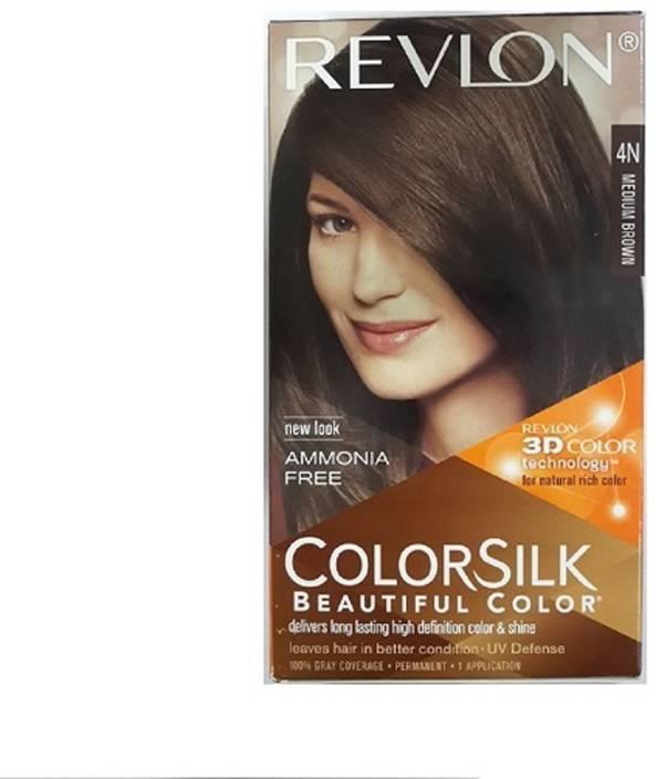 Revlon Colorsilk Hair Color With 3d Color Technology 4n Hair Color