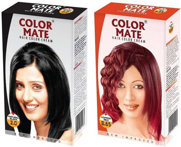 Color Mate Cream Hair Color
