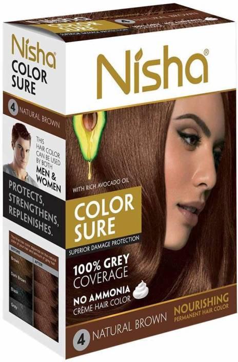 Nisha Color Sure Cream 40 Gm Hair Color