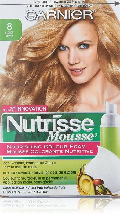 Garnier Nutrisse Nourishing Color Foam Hair