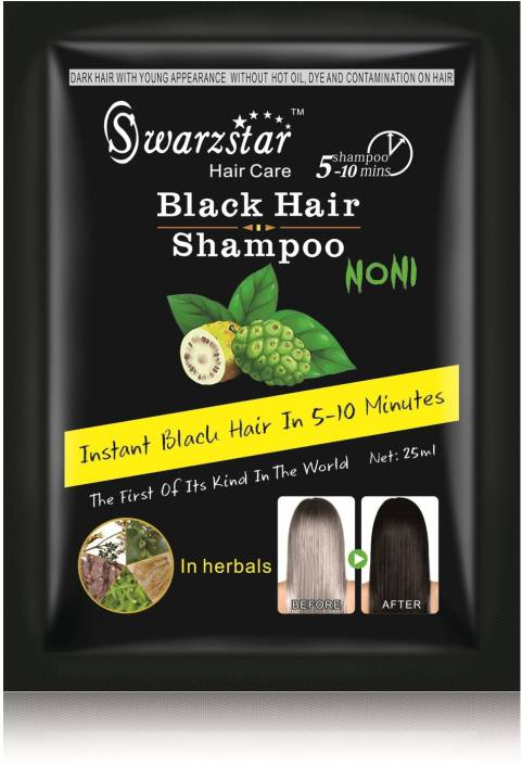 Swarzstar Shampoo with Noni Extract Hair Color