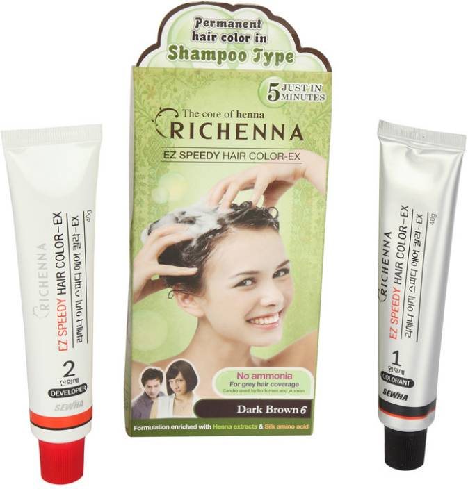 Richenna Shampoo Based Hair Color Price In India Buy Richenna