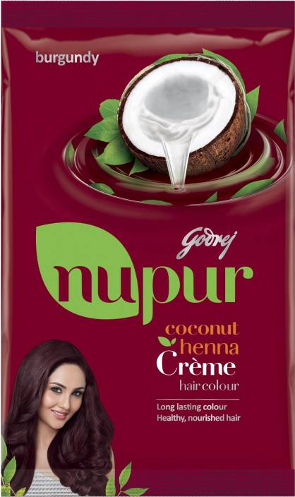 Godrej Nupur Coconut Henna Creme Hair Color