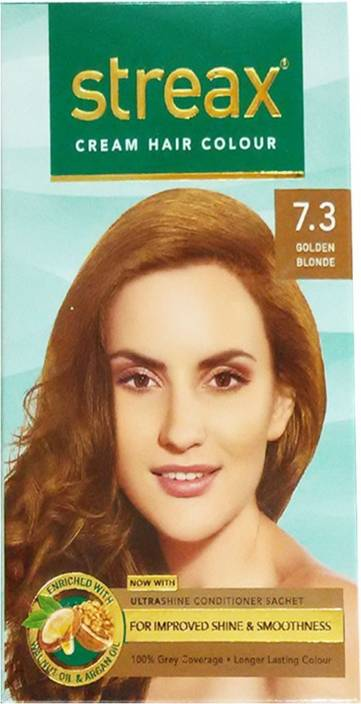 Streax Golden Blonde Cream Hair Color Price In India Buy Streax