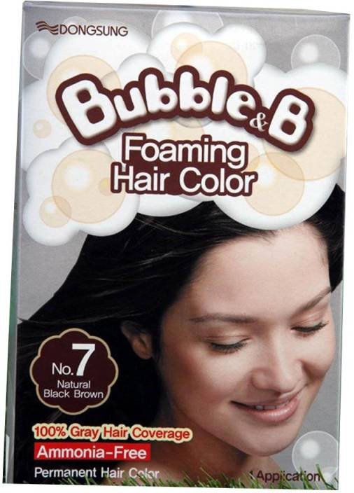 Bubble & B Foaming Hair Color (Without Pump Bottle) Hair Color