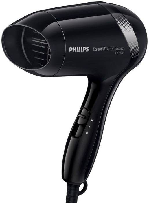 Philips Compact Essential Care 1200 Watts BHD 001 Hair Dryer (Black) 614e3d2f84