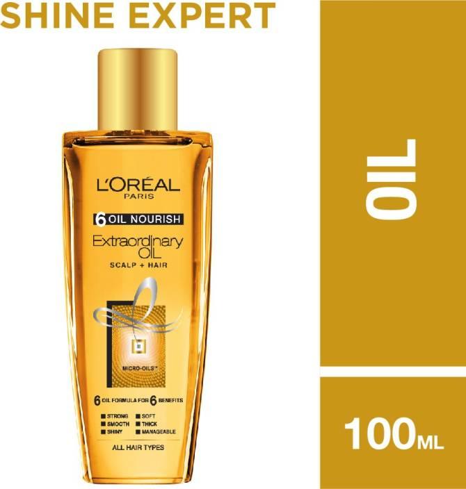 Loreal 6 Oil Nourish Extraordinary Hair Oil