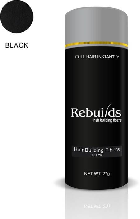 Rebuilds Hair Building Fiber - Black