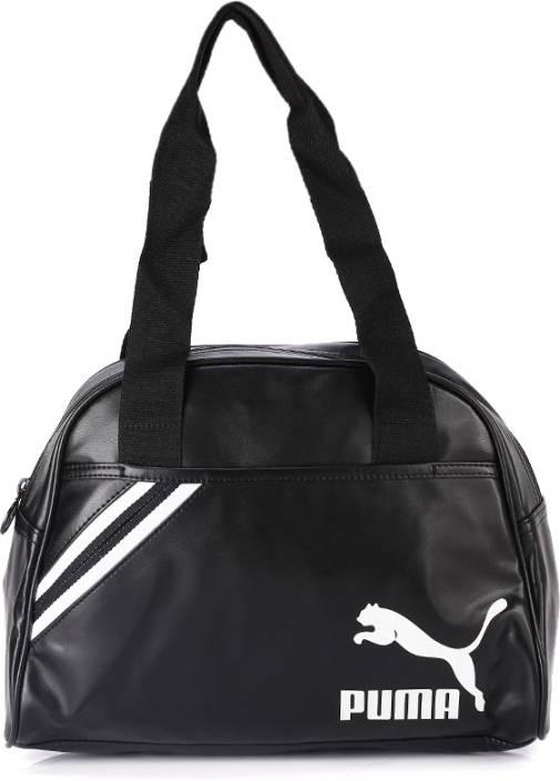 8b47cce4baf7 Buy Puma Shoulder Bag puma black-puma white Online   Best Price in ...