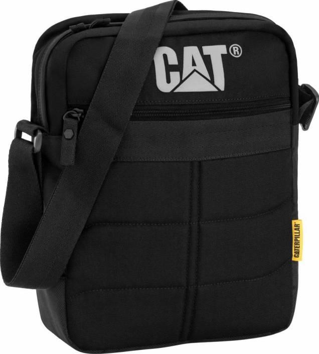 Buy CATERPILLAR Messenger Bag Black Online   Best Price in India ... d6c2f388ae4e2