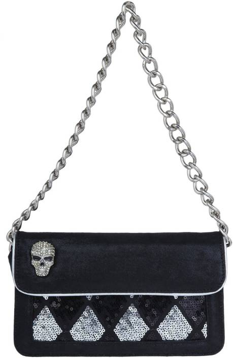 c4e8e9fd8ec Buy Ed Hardy Hand-held Bag Silver Online   Best Price in India ...